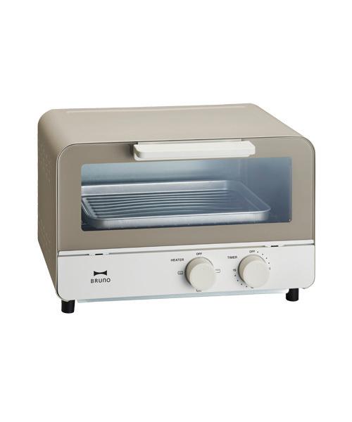 [IDEA SEVENTH SENSE] オーブントースター レッド ウォームグレー BOE052