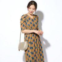 花柄ワンピースの夏コーデ特集。40代だから出来る上品な着こなしのコツをご紹介