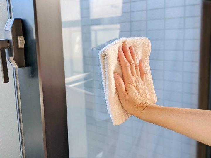 窓ガラスの掃除方法3