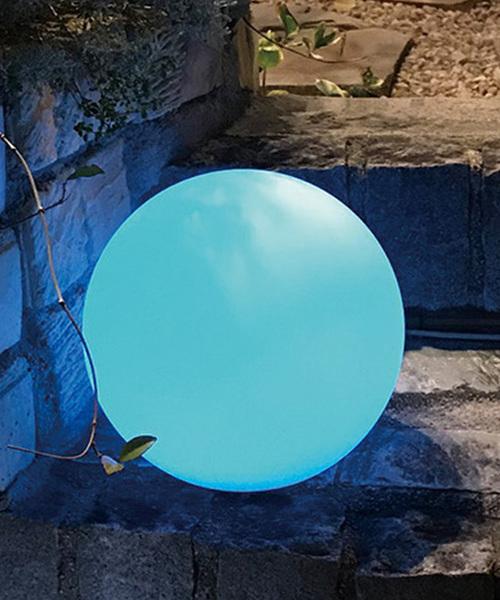[SPICE OF LIFE] 【生活防水】LEDソーラーイルミネーションライト リモコン付き Mサイズ ボール/マッシュルーム