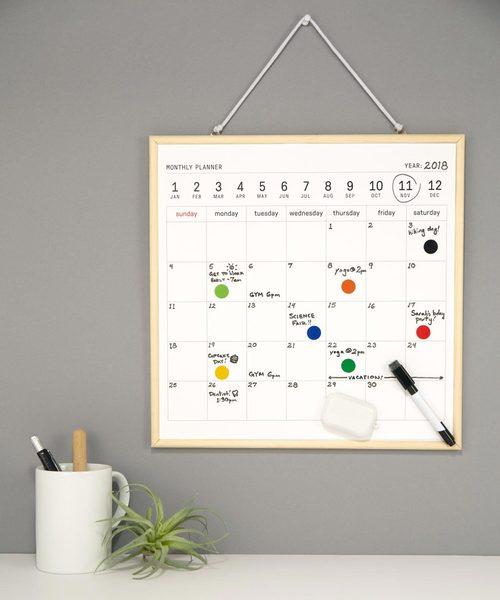 [GEORGE'S] ホワイトボードカレンダー Lサイズ