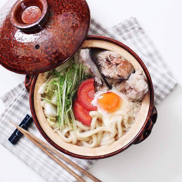 安くて美味しい秋鍋!鮭の粗汁うどん鍋レシピ