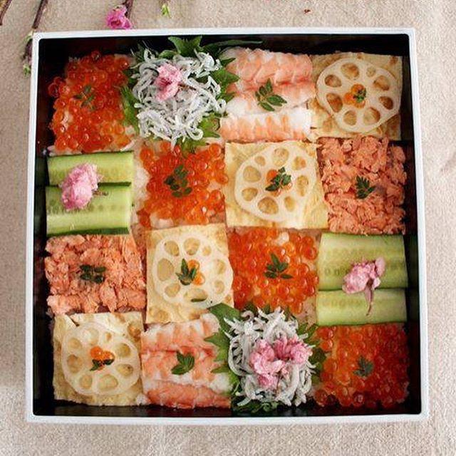 見た目も豪華な人気ちらし寿司