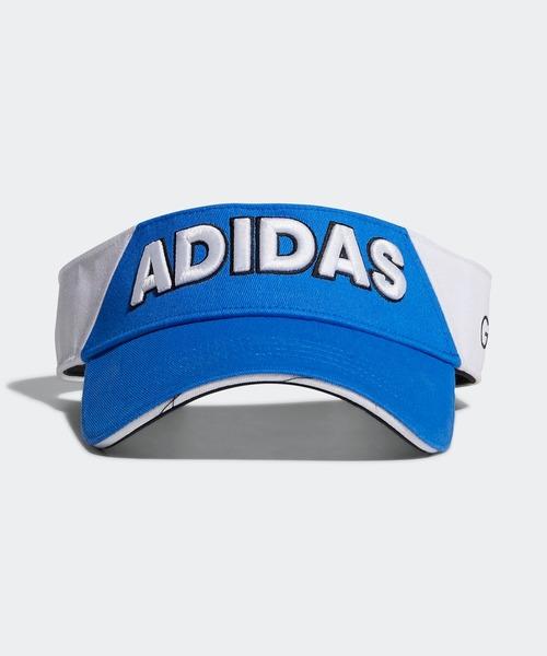 [adidas] コットンツイルバイザー 【adidas Golf/アディダスゴルフ】/ Twill Visor