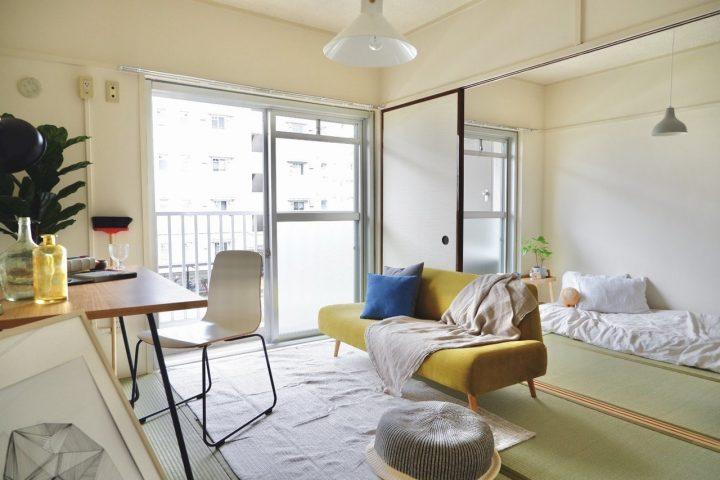 二人暮らしの狭い部屋のレイアウト3
