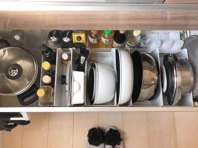 調味料を使いやすく収納できる無印良品収納