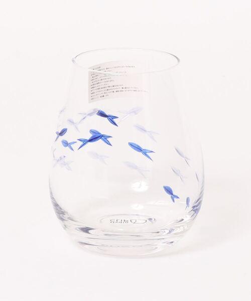 可愛いマリンモチーフのグラス