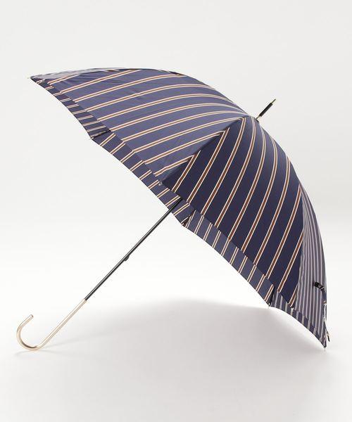 [B'2nd Womens] Wpc.(ダブリュー・ピー・シー)晴雨兼用/LONG UMBRELLA/長傘/レディストライプ