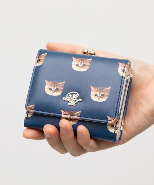 猫好きさんなら必見のキュートなミニ財布