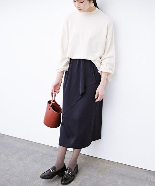 ラップデザイン風スカート