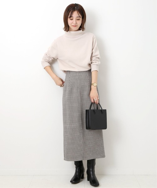 [JOINT WORKS] リバーシブルZIPタイトスカート