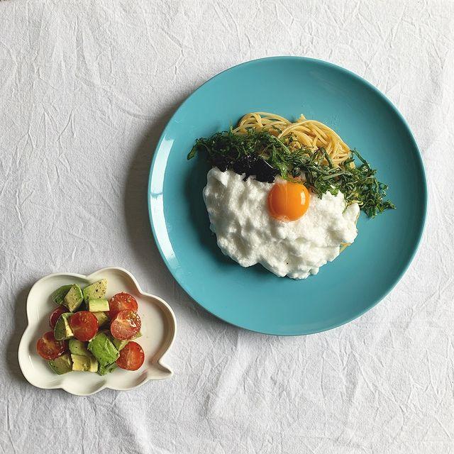 食感楽しい使い道♪メレンゲ和風パスタレシピ