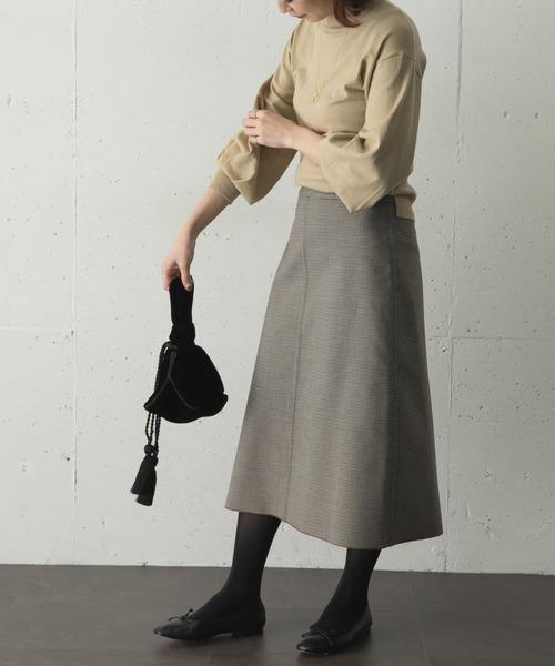 [URBAN RESEARCH ROSSO WOMEN] リバーシブルボンディングAラインスカート