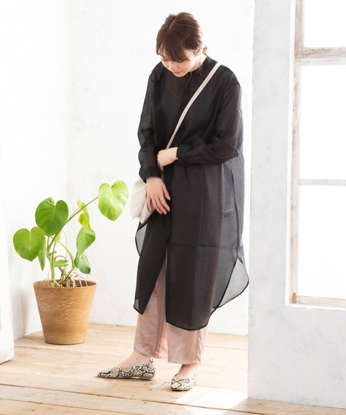 welleg from outletshoes] トゥステッチシャーリングフラットシューズ