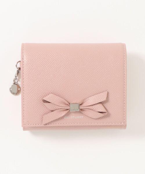 レディな雰囲気たっぷりなリボン付きミニ財布