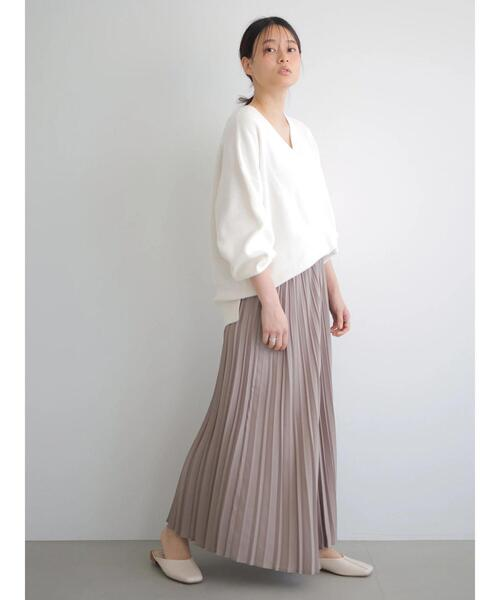 [AMERICAN HOLIC] マルチプリーツロングスカート *●