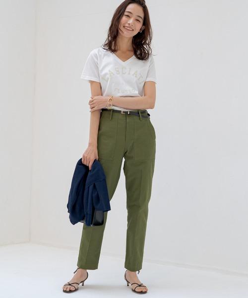 [Loungedress] プリントTシャツ