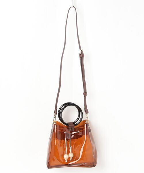 ハンドルリングミニビニールバッグ