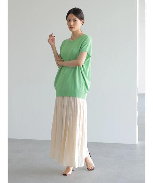 ソフトプリーツギャザースカート