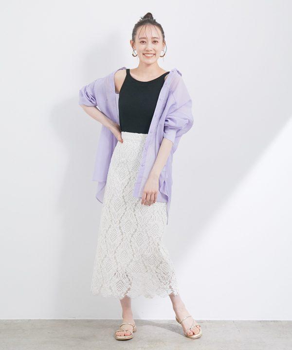 【ViS】幾何学レーススカート