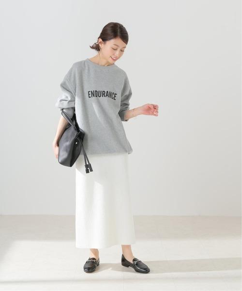 Spick & Span] 【BLOSSOM H】 ブークレニットスカート