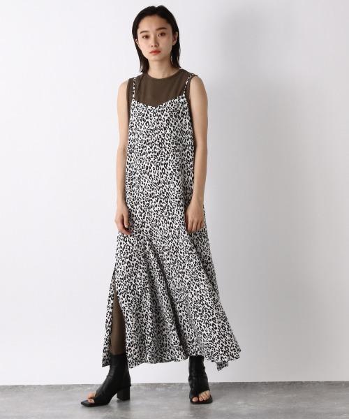 【JEANASIS】フリル2Pキャミドレス