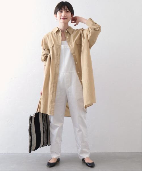 [JOURNAL STANDARD] ライトクロスビッグチュニックシャツ◆5