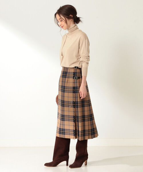 [BEAMS WOMEN] O'NEIL OF DUBLIN / CONOR PASS キルトスカート