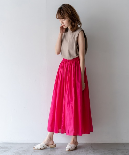 VitaFelice ロングフレアスカート