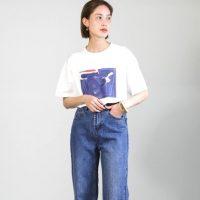 大人女性のおしゃれなデニム×Tシャツコーデ《2021》テイスト別の着こなし