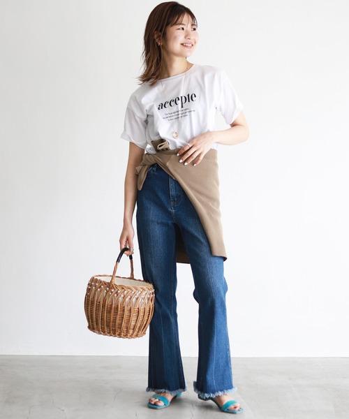 [IENA] accepte Tシャツ【手洗い可能】