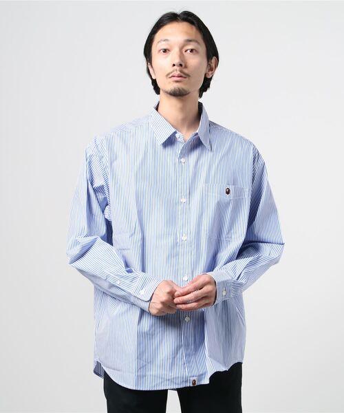 A BATHING APEのシャツ