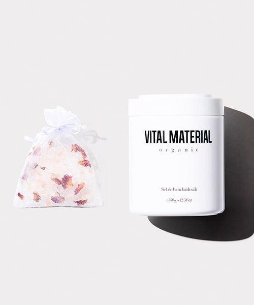 [L.H.P] VITAL MATERIAL/ヴァイタルマテリアル/アロマハーブバスソルト 350g
