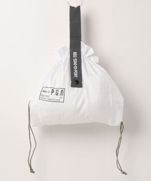 【POST GENERAL/ポストジェネラル】PACKABLE PARACHUTE BAG
