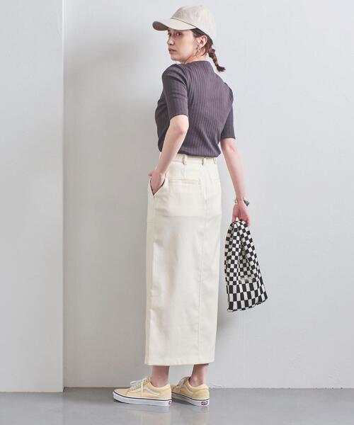 [UNITED ARROWS] UWSC ポケット タイトスカート