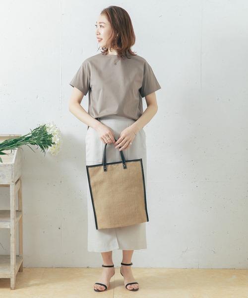 [URBAN RESEARCH ROSSO WOMEN] 【一部WEB限定カラー】ウルティマコットンTシャツ