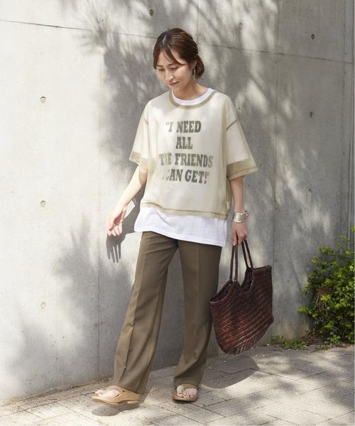 [Spick & Span] シアーTシャツ2◆7