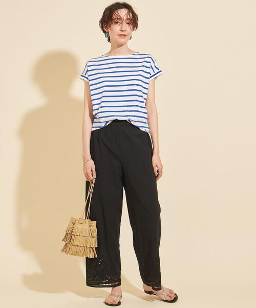 [BEAUTY&YOUTH UNITED ARROWS] 【WEB限定】by ※ フレンチスリーブカットソー