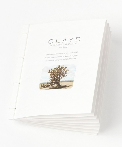 [BAYFLOW] CLAYD for Bath WEEK BOOKウィークブック