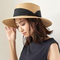 夏のトレンド《カンカン帽》コーデ。大人女子に取り入れて欲しいおしゃれな被り方