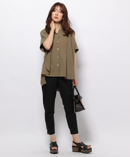 BARNYARDSTORM / ヨークギャザーシャツ