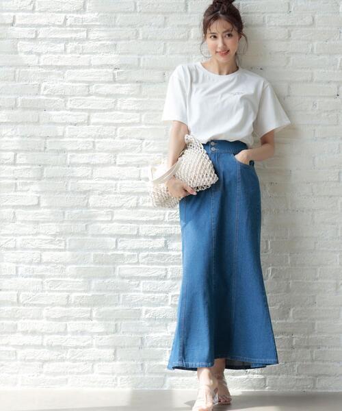 デニムマーメイド/スカート