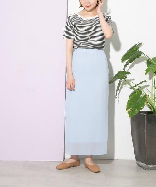 [URBAN RESEARCH] UR Lab. プリーツロングスカート