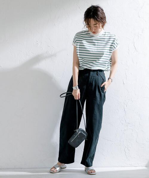 [coen] 吸水速乾機能付きカバーポケットパンツ