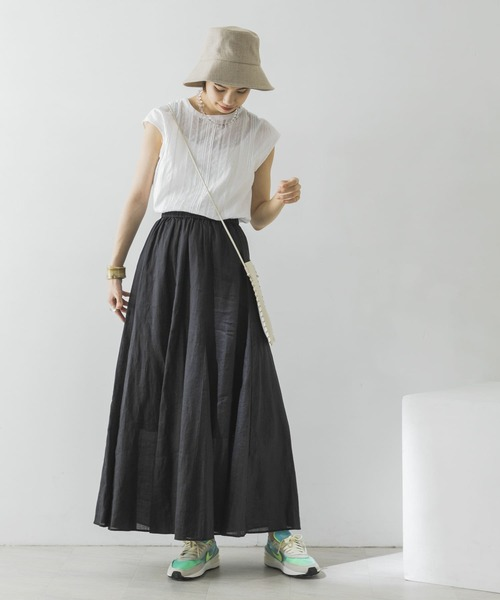 [URBAN RESEARCH] ラミーフレアマキシスカート