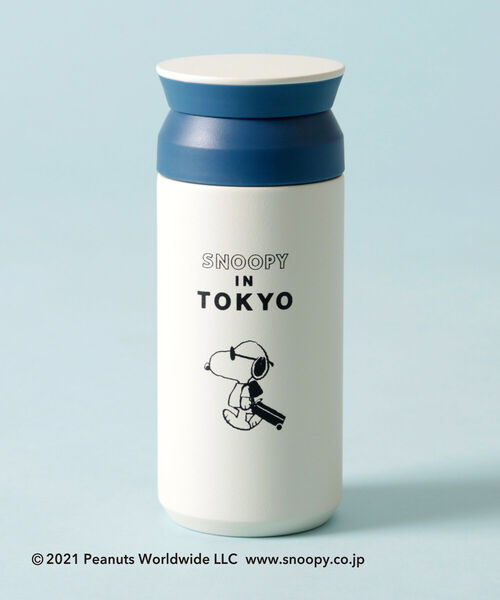 [Afternoon Tea LIVING] PEANUTS/トラベルタンブラー