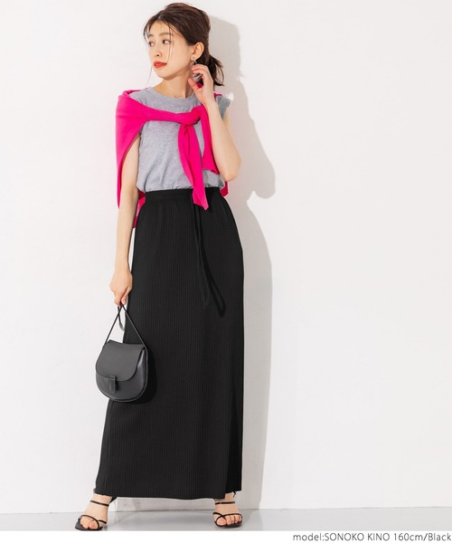 [coca] リブIラインスカート