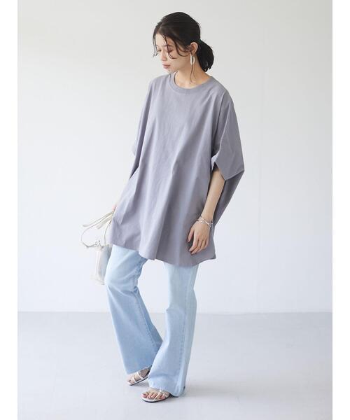 [Green Parks] ・SUGAR SPOON ポンチョTシャツチュニック*7