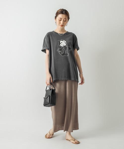 [RIVE DROITE] 【GOOD ROCK SPEED(グッドロックスピード)】FELIX CAT Tシャツ