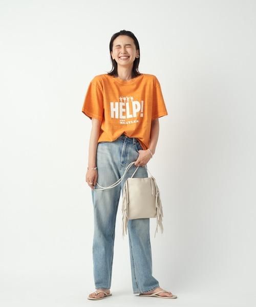 [RIVE DROITE] 【GOOD ROCK SPEED(グッドロックスピード)】BEATLES HELP Tシャツ